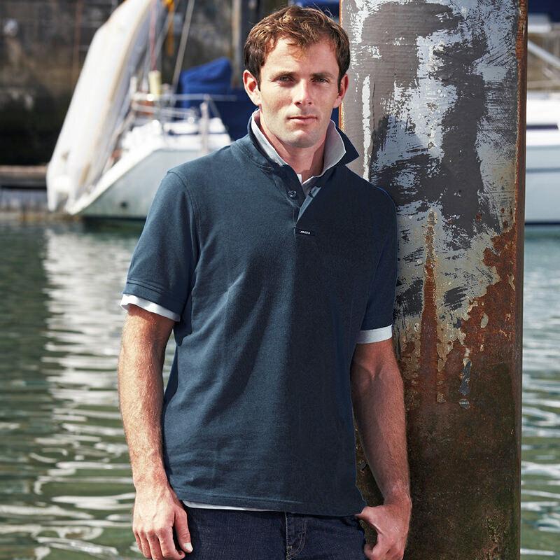 Musto Team Pique Mens Polo Short Sleeve T-shirts Classic Stylish Shirt Top MU005
