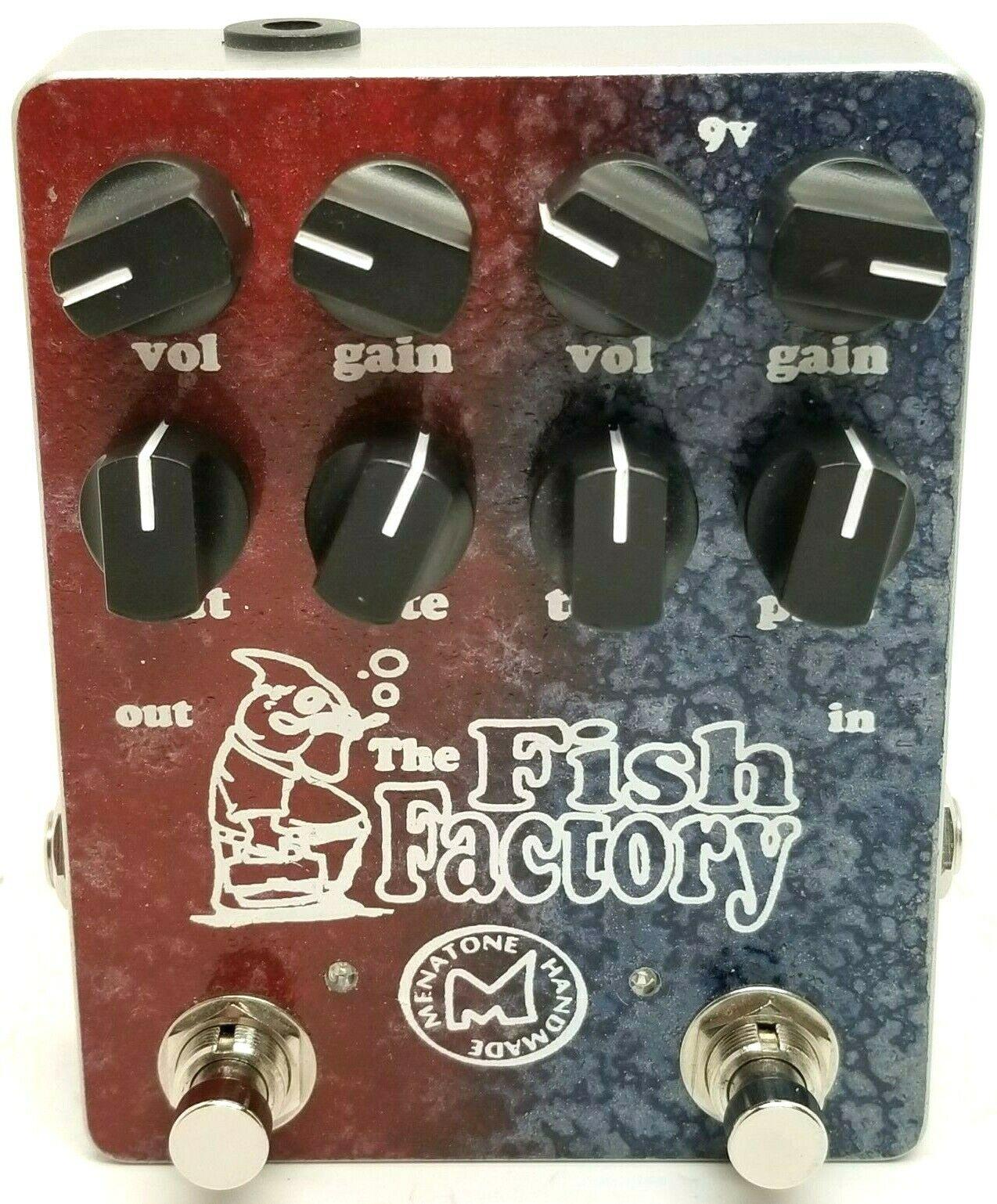 Menatone The Fish Factory, Rare 8-Knob Version Ausgezeichneter Zustand