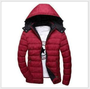 Tops-Men-Warm-Cotton-Padded-Down-Coat-Winter-Slim-Thick-Casual-Outerwear-Jacket