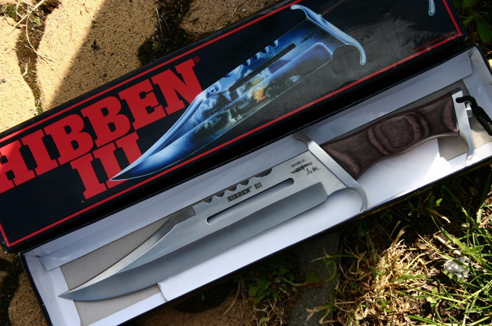 Rambo 3 HIBBEN Knife Messer United Cutery Limited Edition Bowie