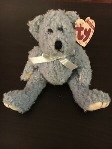 0350ba75d4b Image is loading TY-Beanie-Baby-The-Attic-Treasure-Collection-Bluebeary-