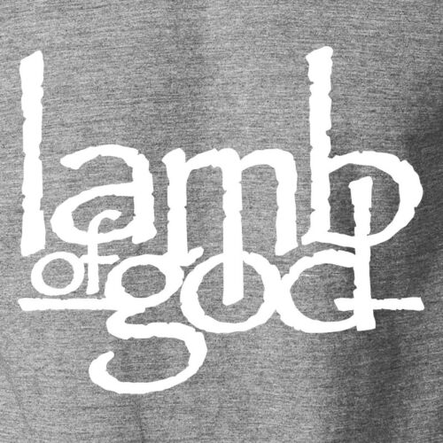 LAMB OF GOD T-Shirt Metal Band Deathrock Concert Tour Logo Ringspun Cotton Tee
