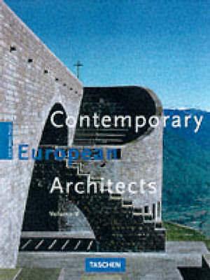 Contemporary European Architects: Vol. 5 (Architecture & Design), Jodidio, Phili