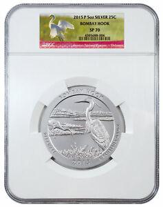 2015-P-5-oz-Specimen-Silver-ATB-America-Beautiful-Bombay-Hook-NGC-SP70-SKU39001