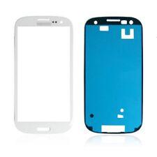 Samsung Galaxy S3 i9300 i9305 9300i Display Glas Scheibe Weiß inkl. Klebefolie