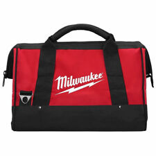 One Milwaukee 48-55-3550 Contractor Tool Bag Electrician w/ Zipper