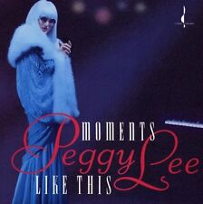 Moments Like This by Peggy Lee (Vocals) (CD, Dec-1992, Chesky Records)