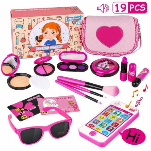 Girl Pretend Play Makeup /& My First Purse Toy for Toddler Gift Kids Makeup Kit