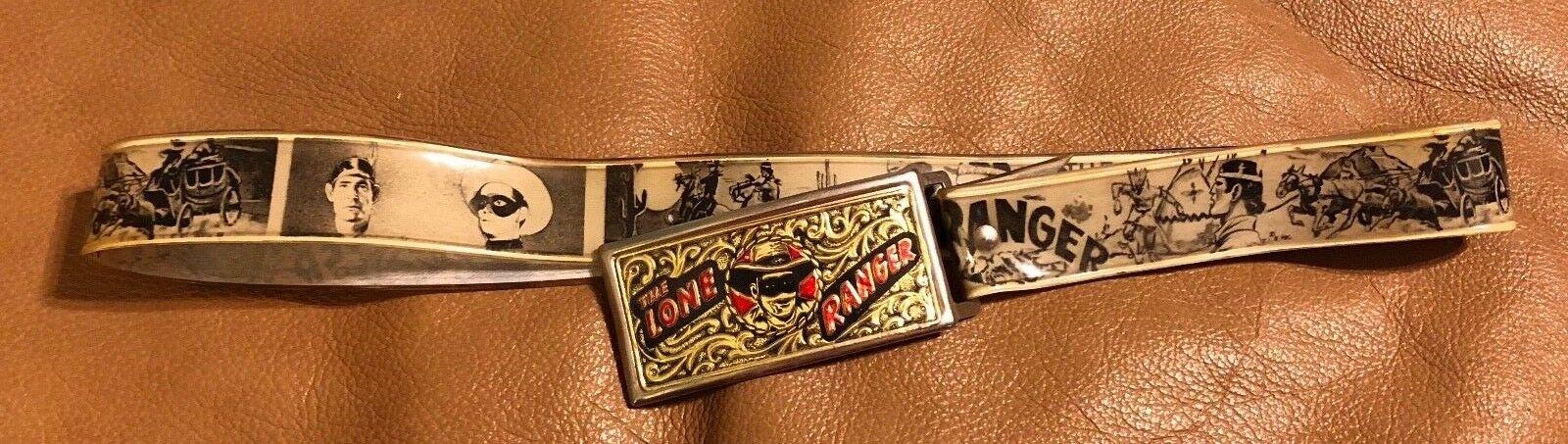 Lone Ranger Vintage Vintage Vintage 1940's belt 3be384