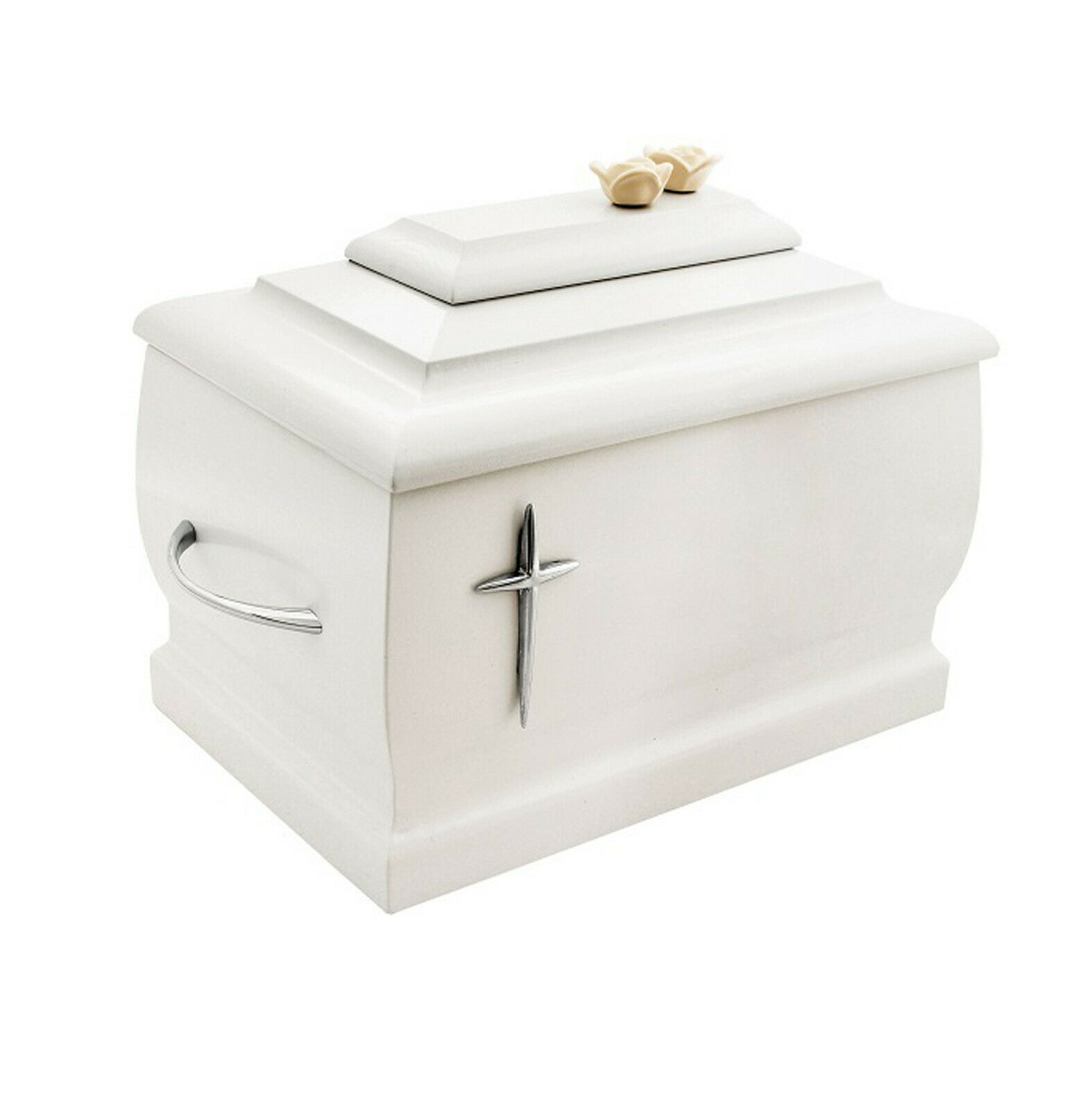 En Bois Blanc Urne pour Adulte Cremains Uniques Mémorial Funérailles Human Ashes
