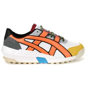 ASICS Onitsuka Tiger Big Logo Trainer White/Shocking Orange Shoes 1183A419.10...