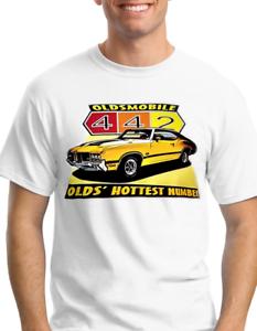 /'70 Olds oldsmobile Mens Tshirt 100/% Cotton S-5XL New 1970 Cutlass 442 t-shirt