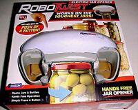 Emson Robotwist Electronic Button Hands Free Jar Opener