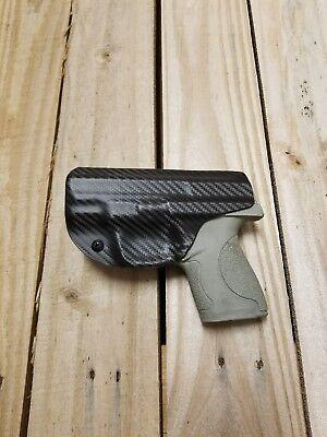 Concealment S/&W M/&P SHIELD 9//40 Crimson Trace IWB Carbon Black KYDEX Holster
