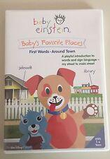 BABY EINSTEIN*****Baby's Favorite Places - First Words Around Town