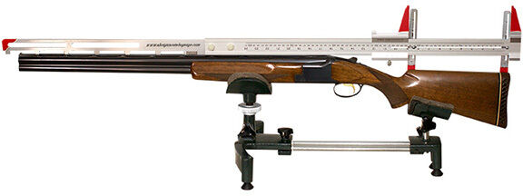 THE COMPLETE SHOTGUN COMBO GAUGE - Measures Length of Pull, Drop, Pitch and Cast