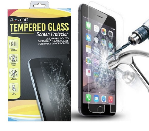 """9H+ Premium Real Tempered Glass for Apple 4.7"""" iPhone 6/6S Film Screen Protector"""