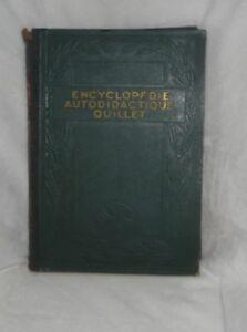 ENCYCLOPEDIE-AUTODIDACTIQUE-QUILLET-TOME-1-1932
