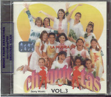 CHIQUITITAS LA MUSICA DE CHIQUITITAS VOL. 3 SEALED CD NEW SOUNDTRACK