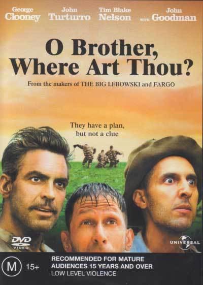 O Brother Where Art Thou ? * NEW DVD * George Clooney John Goodman Holly Hunter