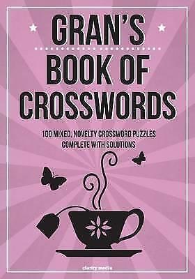 1 of 1 - Very Good, Gran's Book Of Crosswords: 100 novelty crosswords, Media, Clarity, Bo