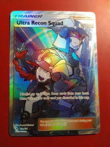 Full Art Ultra Rare NM Pokemon Card Ultra Recon Squad 131//131 Forbidden Light
