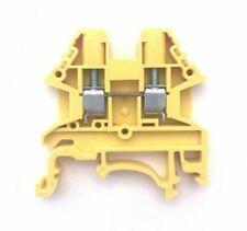 DIN Rail Terminal Blocks 100 Quantity DK2.5N-BR Dinkle Brown 12 AWG 20 A 600 V