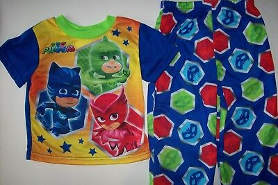 Pj Mask Pajamas 2pc Set Boys Sleepwear 2T 3T 4Toddler NWT
