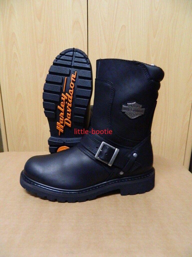 Harley-Davidson Stiefel - Stiefel schwarz Leder Herren Gr. 41 - 46   95194 Booker