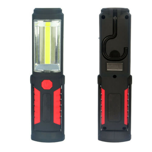 LED Ultra bright Magnetic Work Inspection COB Light Tent Lamp Torch Hang Hook