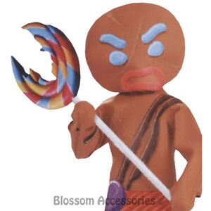 A731-Shrek-Gingerbread-Man-Warrior-Costume-Toy-Inflatable-Lollipop-Accessory