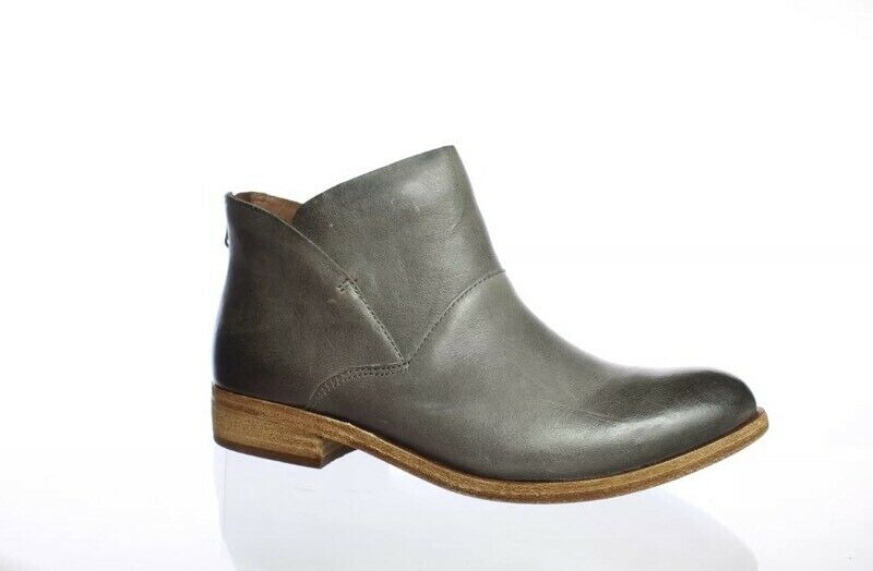 NIB Kork-Ease Ryder Grey Leather Boots Womens Size 6