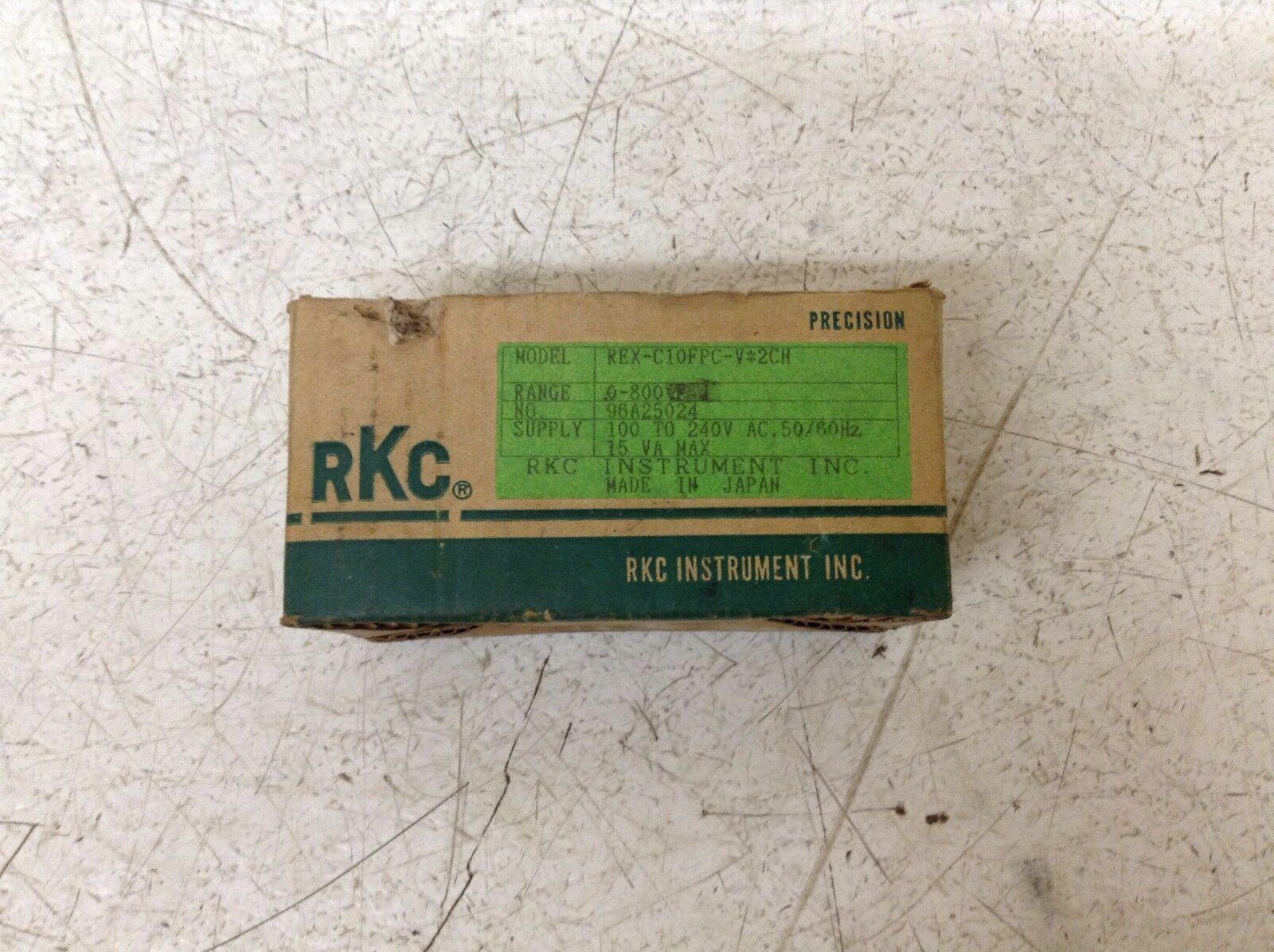RKC REX-C10FPC-V2CH Regulador V de Temperatura 100-240 V Regulador REX-C10FPC-V 2CH Nuevo fdefd5