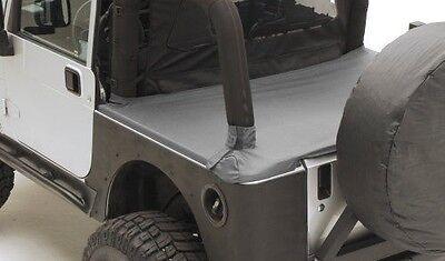 Smittybilt 761235 Tonneau Cover Soft Top Black Diamond for Jeep Wrangler 2 Door