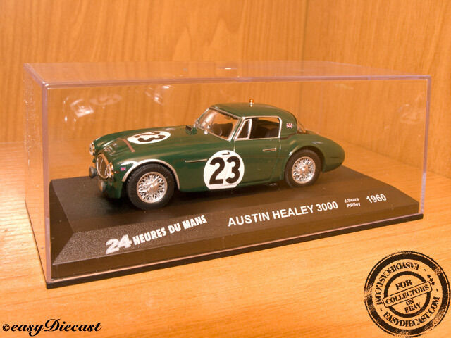 AUSTIN HEALEY 3000 1 43 SEARS-RILEY 24H.LE MANS 1960