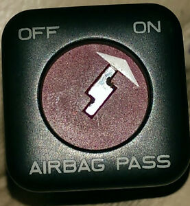 Peugeot 206 Airbag Passenger On Off Switch 96404548zl Ebay
