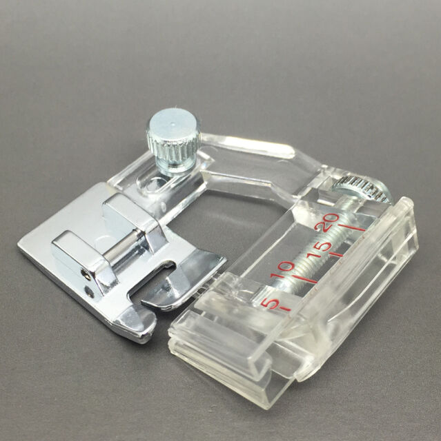 Adjustable Bias Binding Presser Foot Attachment