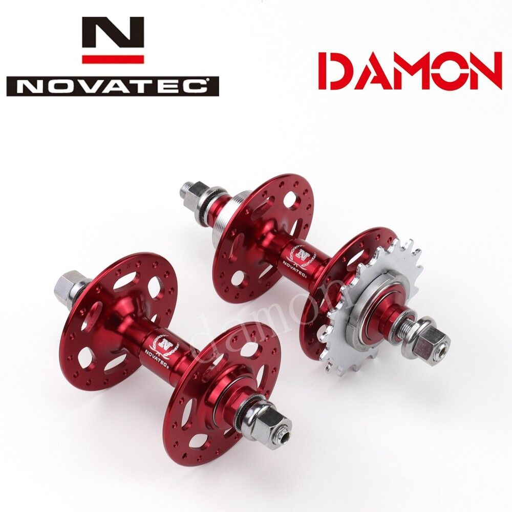 Novatec A185SBT A186SBT Fixed Gear 32 Holes Single Speed Bicycle Hub 14 15 17T