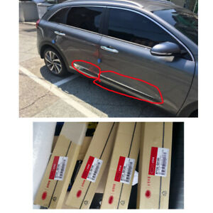 Genuine-OEM-Door-CHROME-MOULDING-4pcs-Set-87721G5100-for-2017-KIA-Kia-Niro