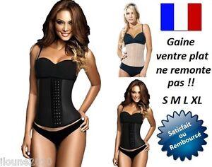 GAINES-VENTRE-PLAT-FEMME-CORSET-AMINCISSANT-SERRE-TAILLE-S-M-L-XL