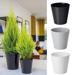 Blumentopf-Pflanzentopf-Ubertopf-Orchideentopf-3-Farben-8-Groessen-3D-Efekt