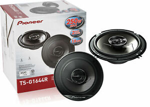 Pioneer-TS-G1644R-6-1-2-034-2-Way-Car-Speakers-Pair-250W-New-TSG1644R