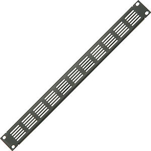 """19"""" 1u Vented Blanking Rack Patch Panel–module Cover Plate Mount–equipment Case Grade Products According To Quality Patch Panels"""