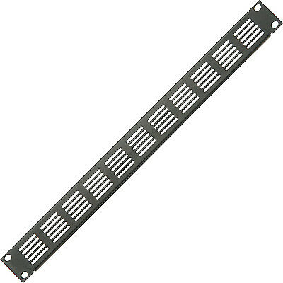 Módulo Placa Tapa Soporte Alert 48.3cm 1u Ventilado Blanking Rack Panel Parche Elegant Appearance