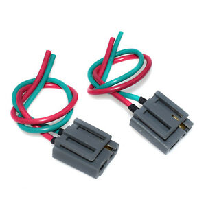 2pcs distributor pigtail wire harness set for gm hei power. Black Bedroom Furniture Sets. Home Design Ideas