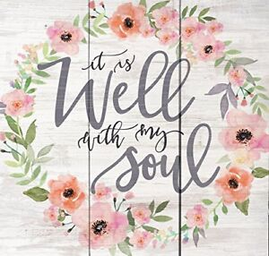 Well-With-My-Soul-Floral-Wreath-Whitewash-10-5-x-10-Wood-Pallet-Wall-Plaque-Sign