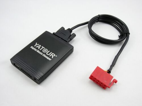 USB SD AUX en adaptador mp3 cambiador CD adecuado para mercedes c e w140 w202 w210