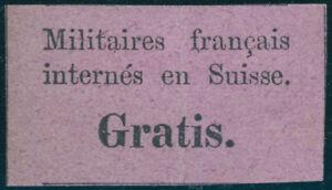 SCHWEIZ-1871-Portofreiheit-franz-Militaer-MiNr-PF-1-ungebraucht-Mi-130