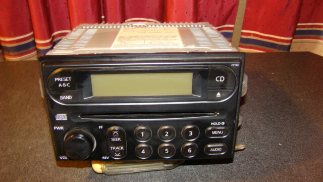 2002 04 Nissan Pp2449h Frontier Xterra Am Fm Car Stereo Radio Cd Rhebay: 2002 Nissan Xterra Radio Cd Player At Gmaili.net