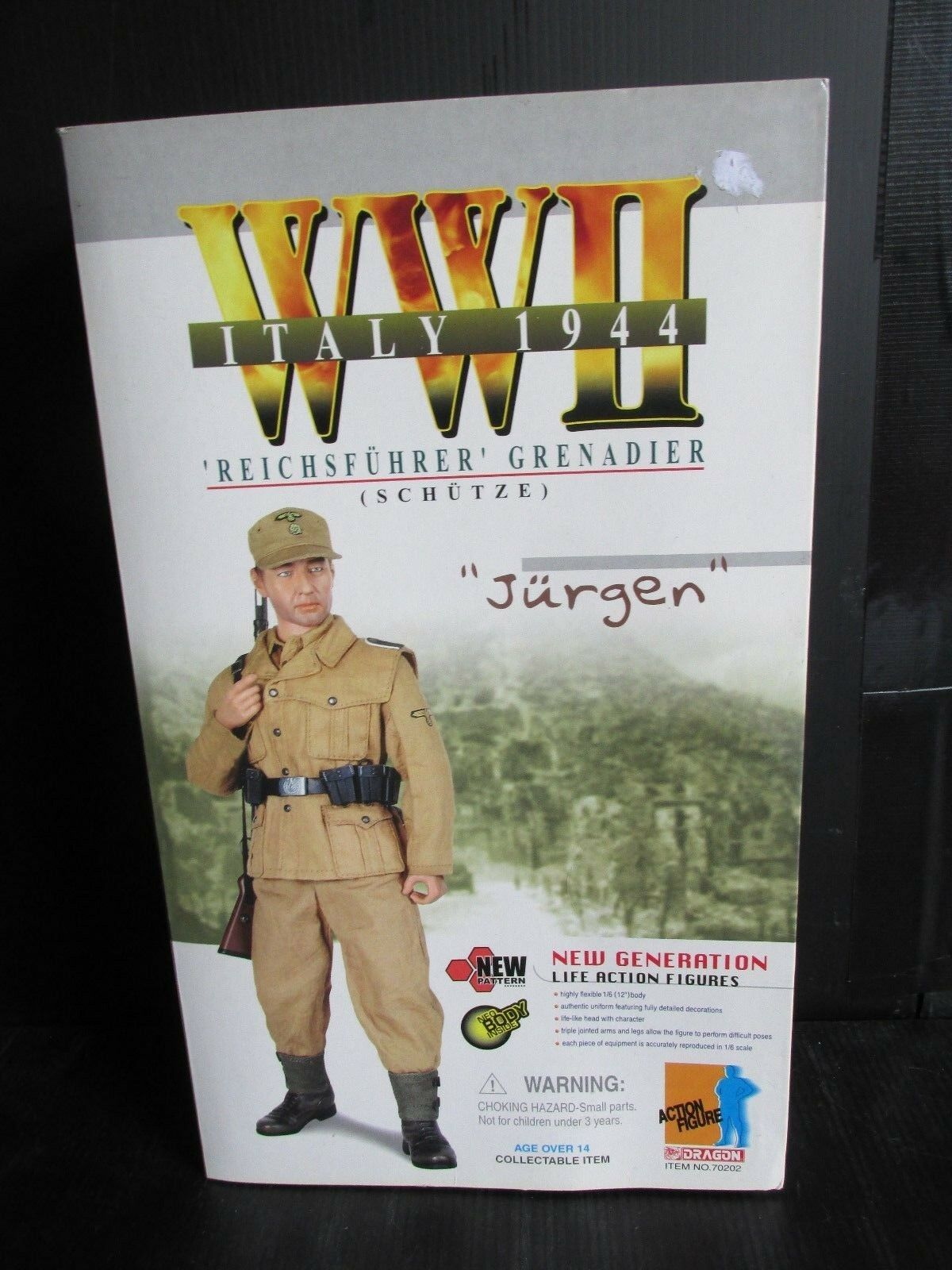 Dragon+ 1 6th scale Action figures WW11 ITALY 1944  JURGEN